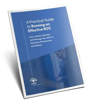 White paper cover: A Practical Guide to Running an Effective NOC