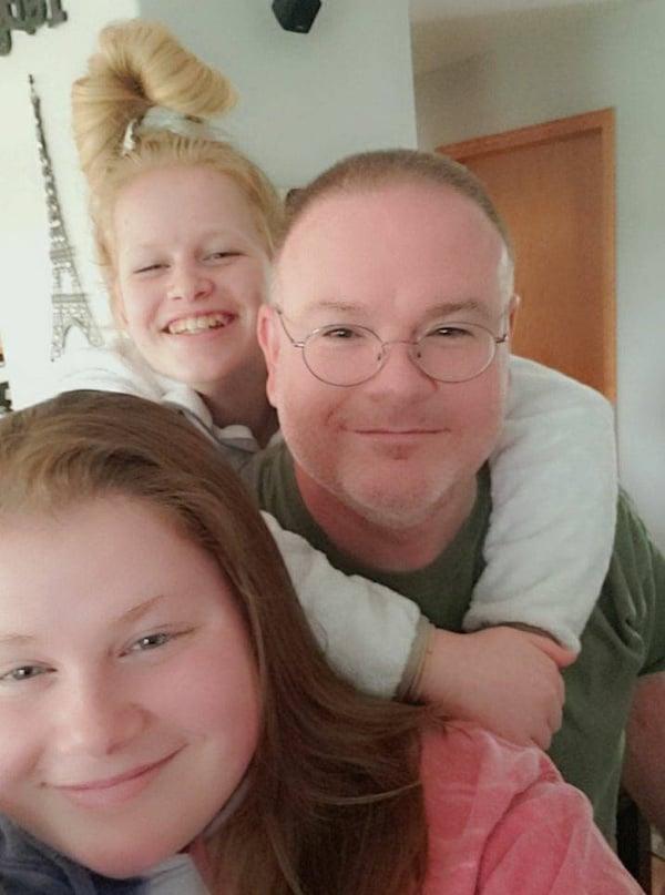 Jim and kids