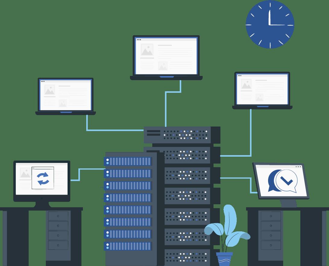 network header image